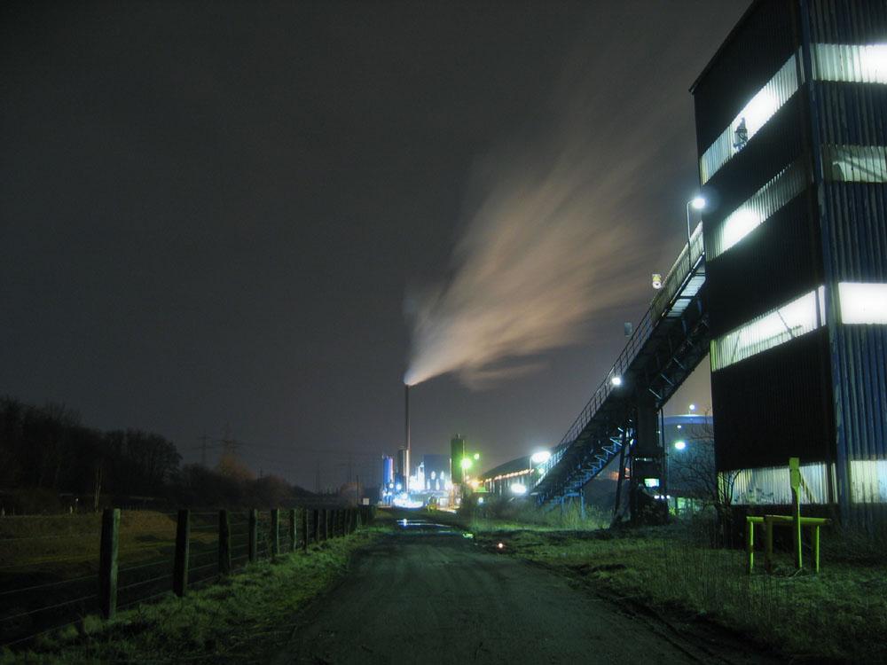 Andere Ansicht des Kraftwerkes