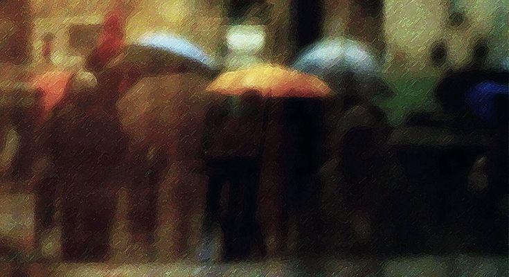 ... andiamo a vedere la pioggia