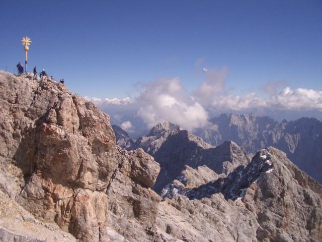 Andrang auf der Zugspitze