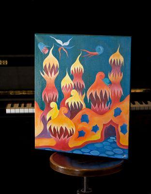 Andreas , Musiker .. Maler