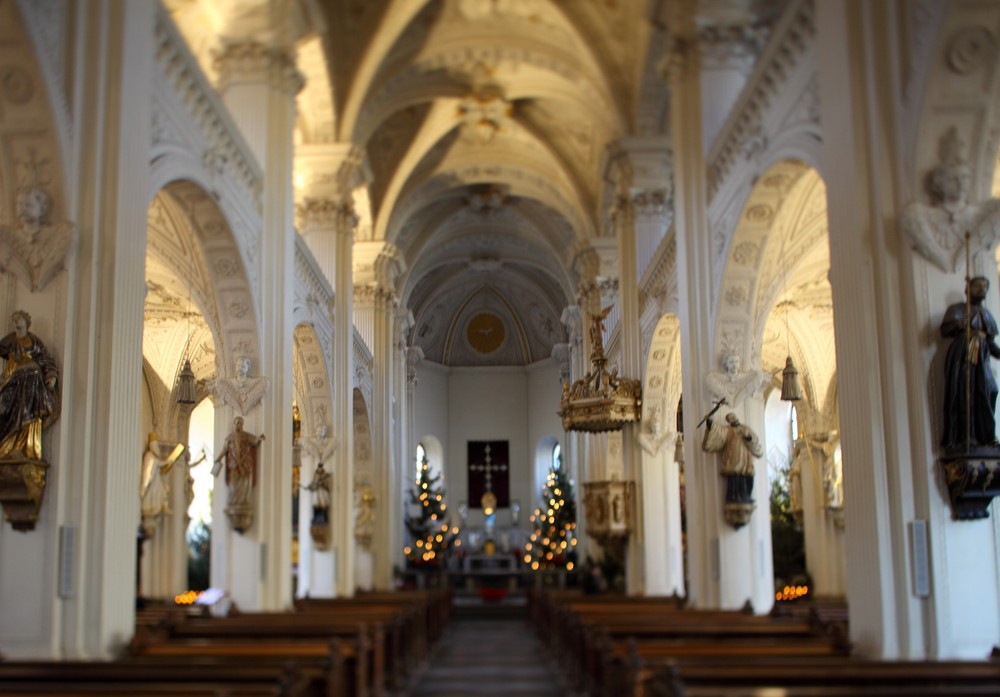 Andreaskirche in der Düsseldorfer Altstadt