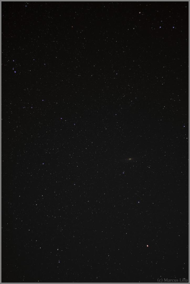 Andromeda am 17.08.2012