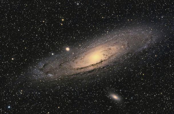 Andromeda Galaxie M31 B-V kalibriert