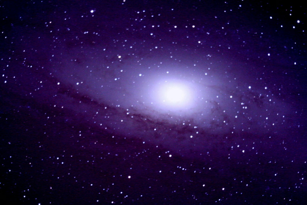 Andromeda Galaxie (zoom)