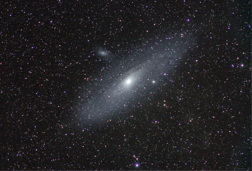 Andromeda mit 300mm tele