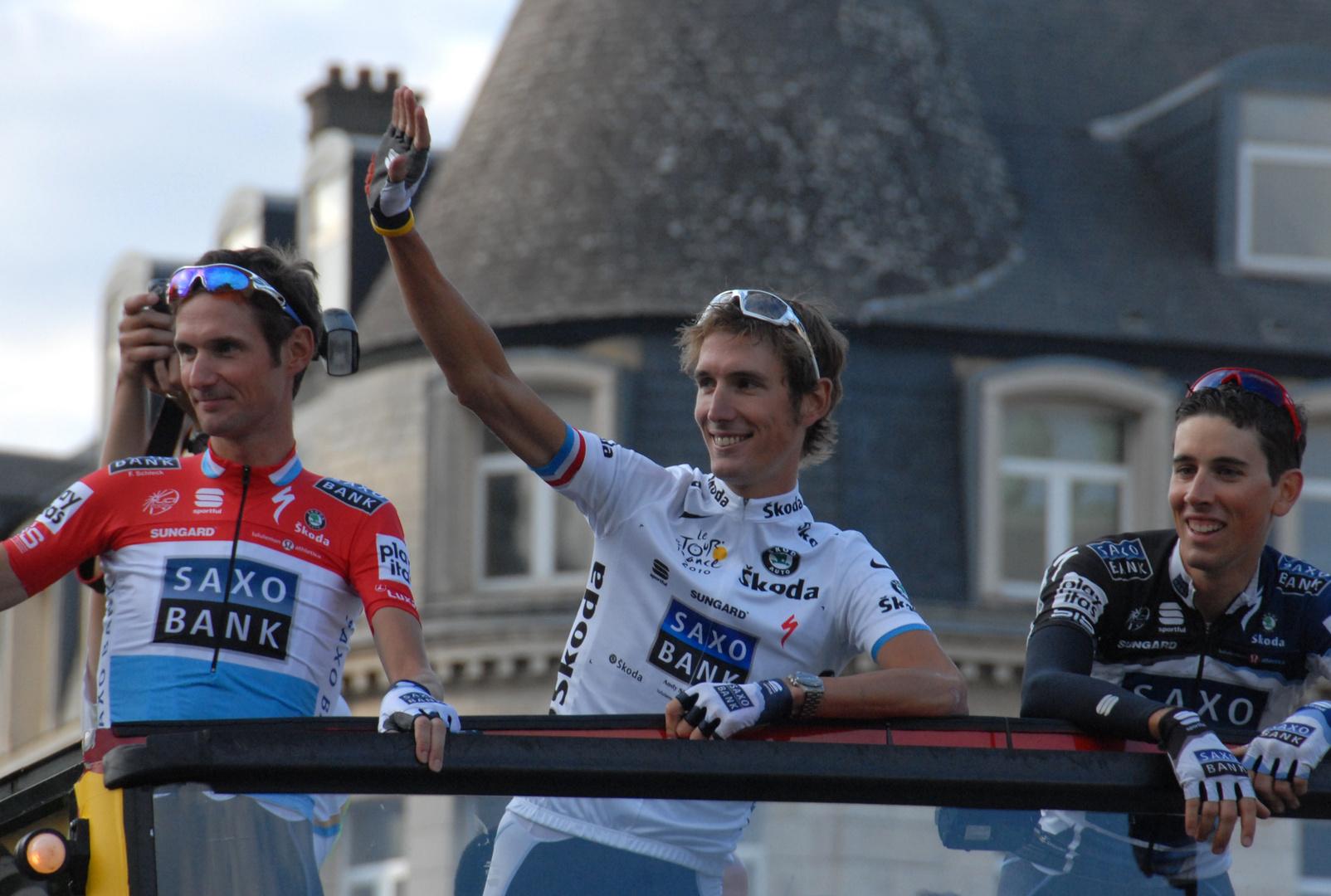 Andy Schleck...2.ter der Tour de France 2010