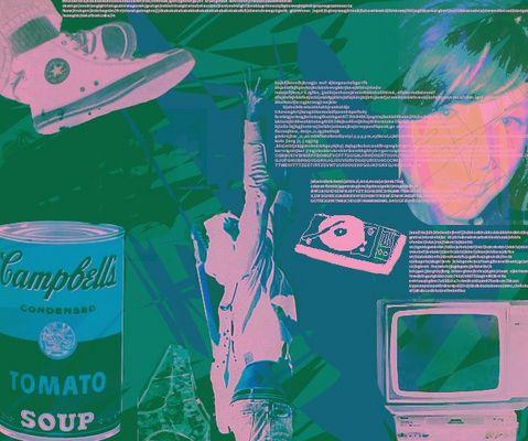 Andy Warhol, H&M Werbung und anderes