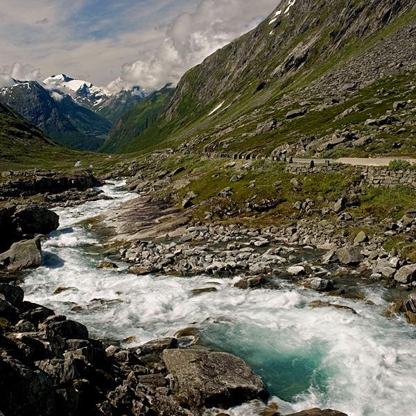 Anfahrt zum Gamlestrynefjellsveg