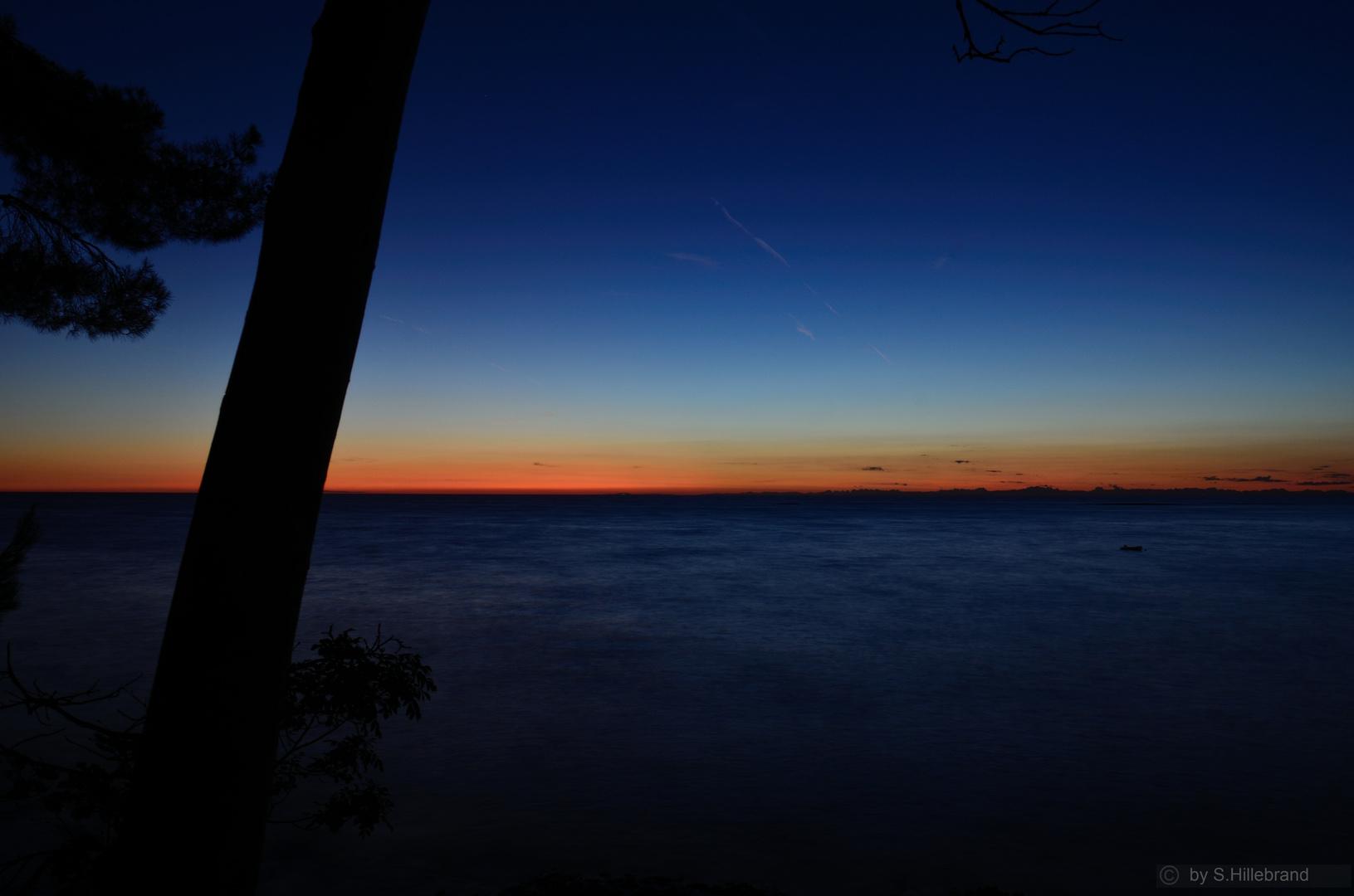 Anfang der Blauen Stunde
