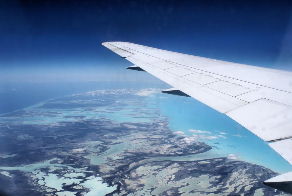 Anflug auf Cuba