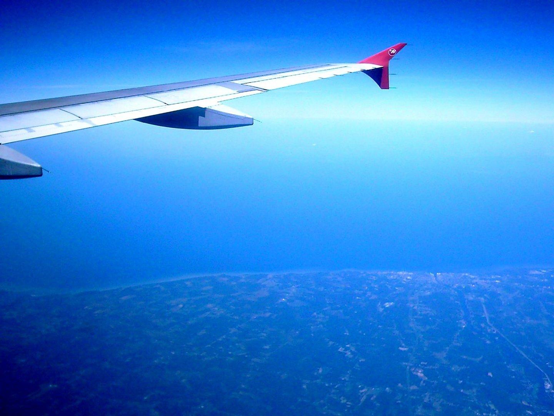Anflug auf den Eriesee