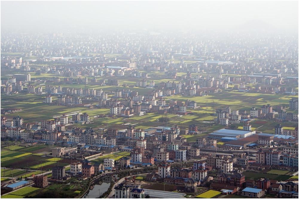 Anflug auf Hangzhou