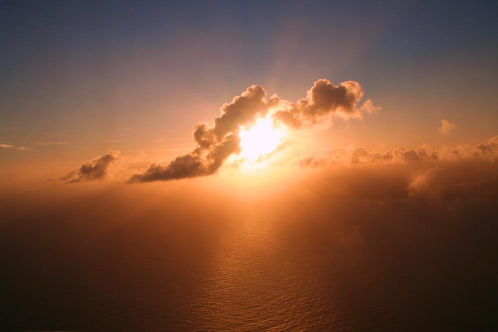 Anflug auf Kauai