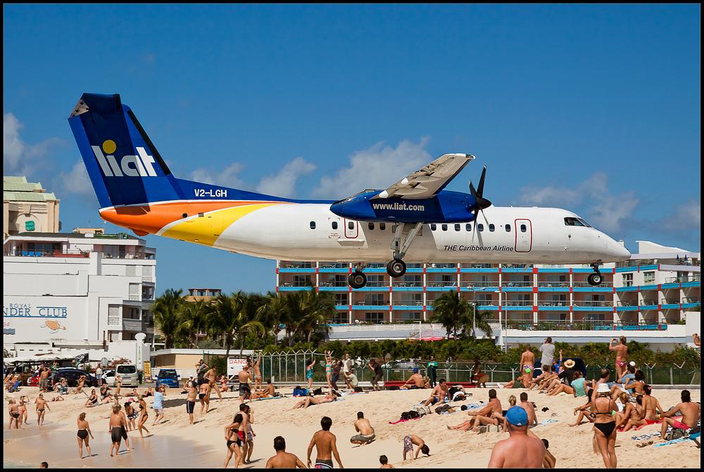 Anflug auf St.Maarten I