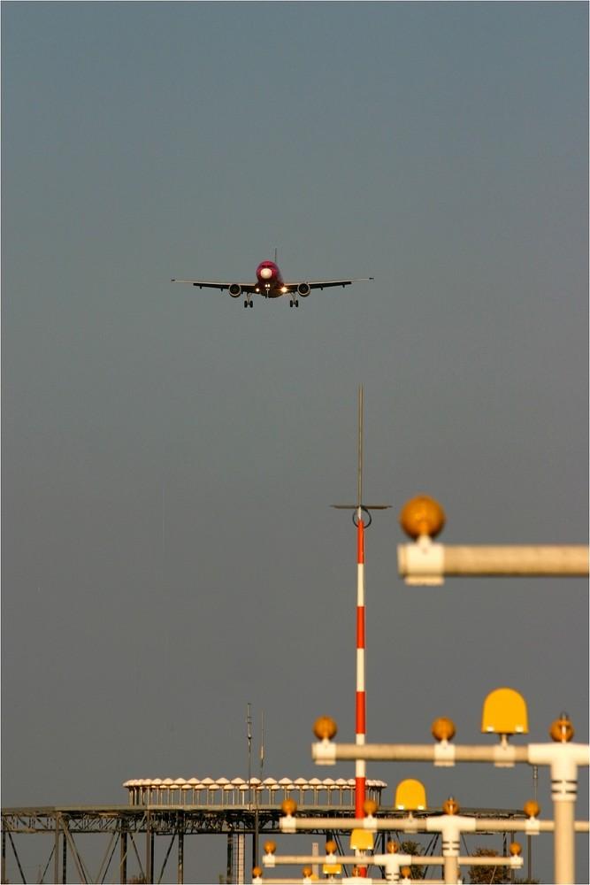 Anflug auf Stuttgart