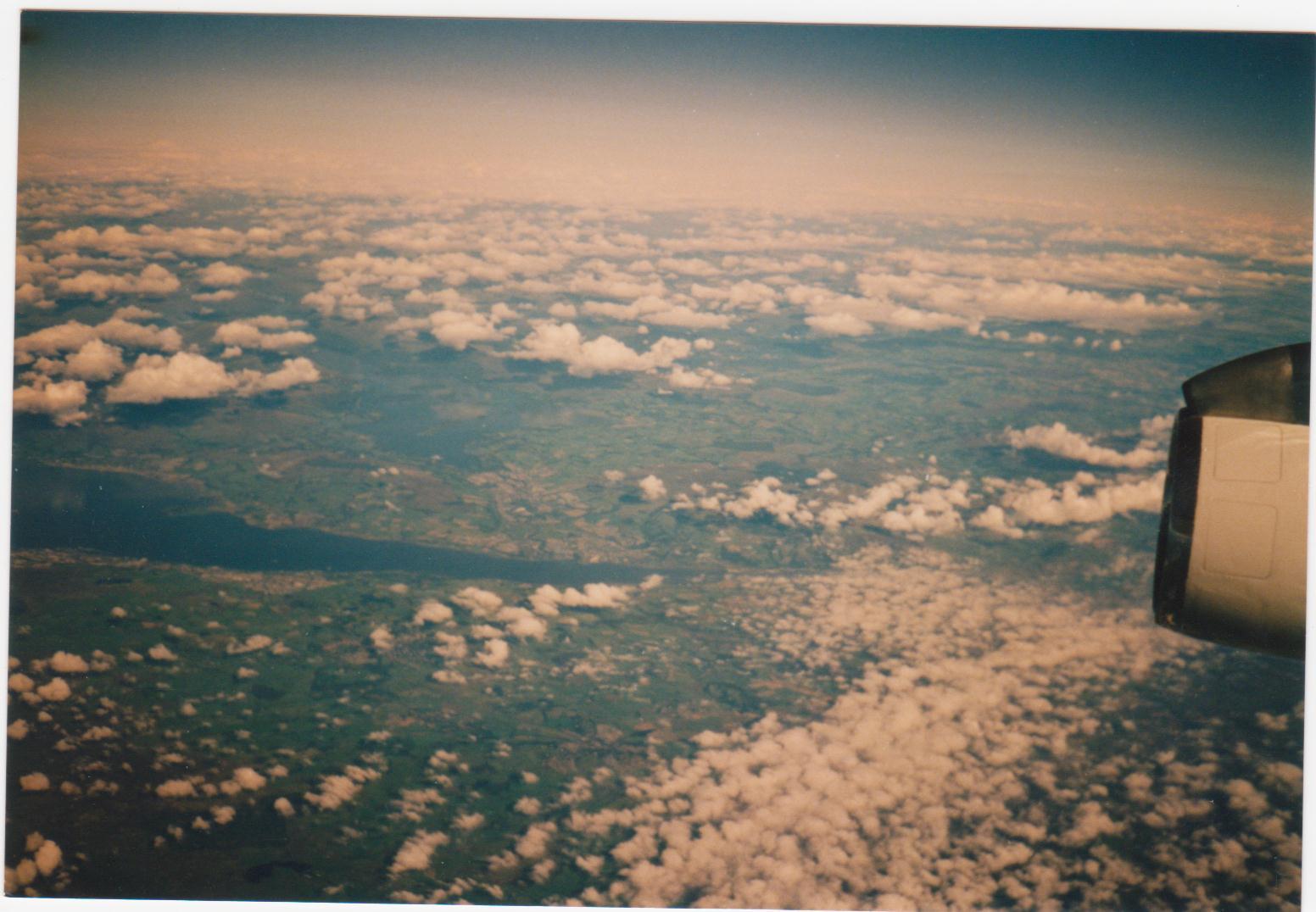 Anflug Winnipeg Manitoba