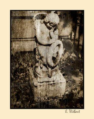 Ange au Cimetière du Père Lachaise, Paris