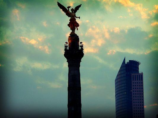 Angel de la Independencia, Distrito Federal Mexico