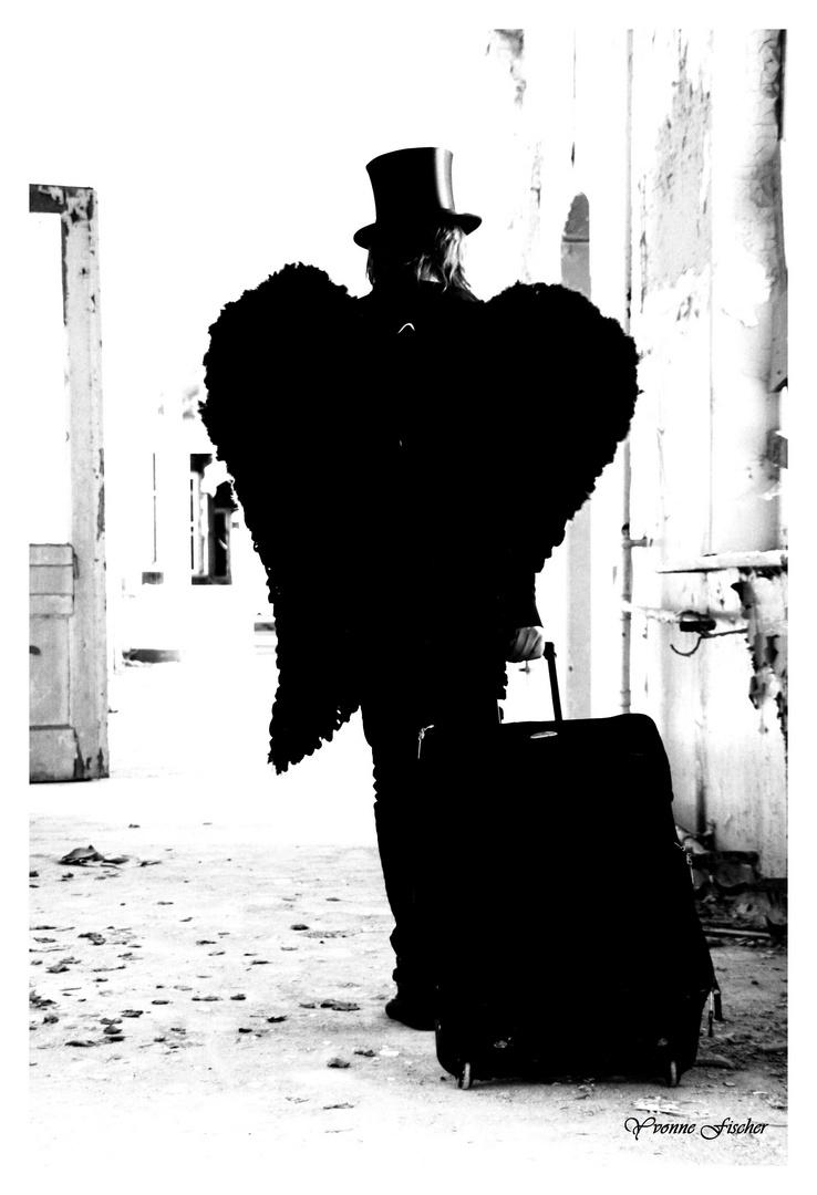 Angel on journey