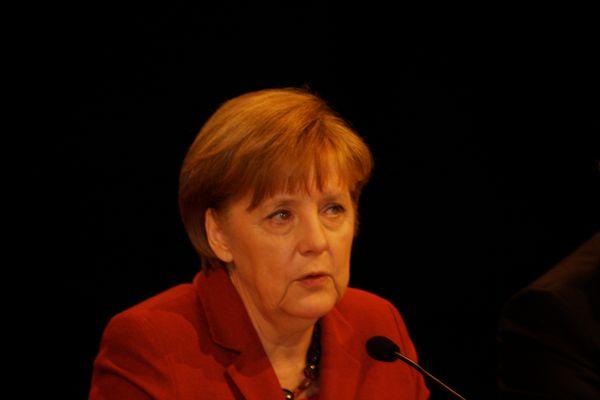 Angela Merkel bei der Internationalen Handwerksmesse 14.3.2014 in München