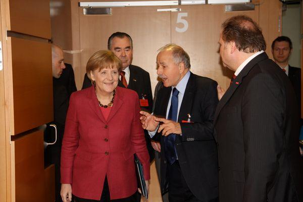 Angela Merkel besucht die internationale Handwerksmesse 14.3.2014 München