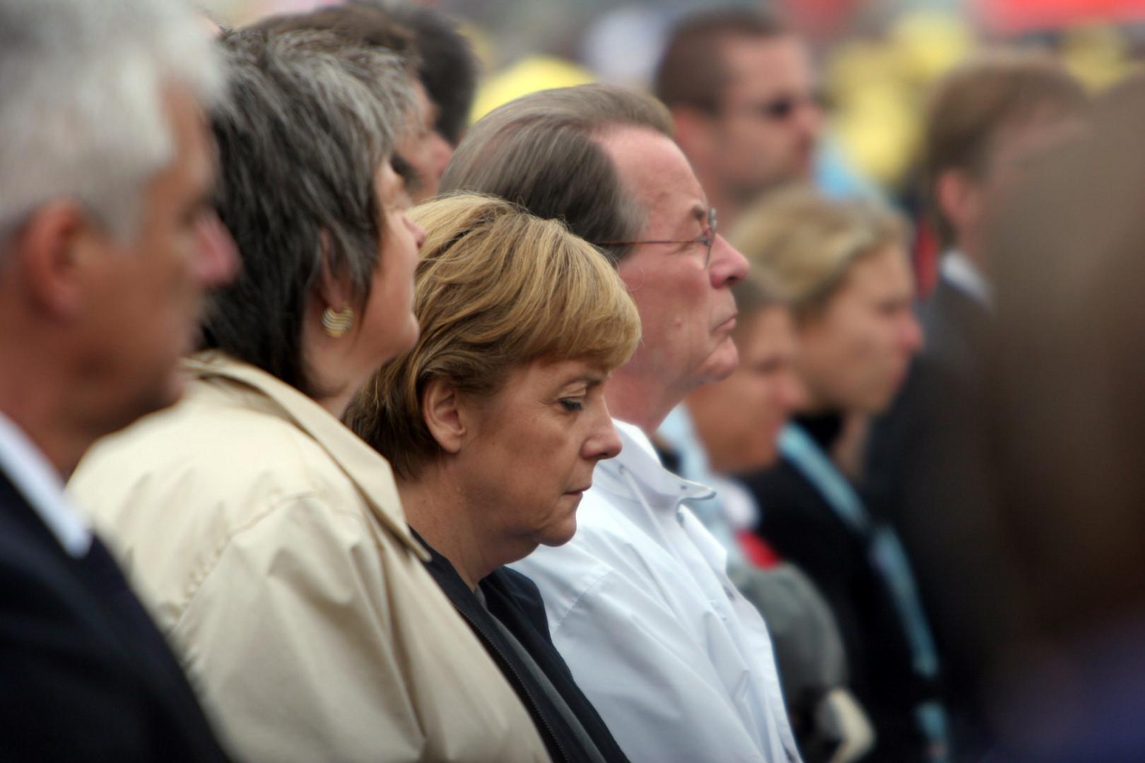 Angela Merkel Marienfeld Horrem 21.08.2005