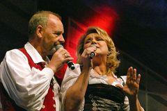 Angela Wiedl und Uwe Erhardt Mitglied der Gruppe Die Schäfer