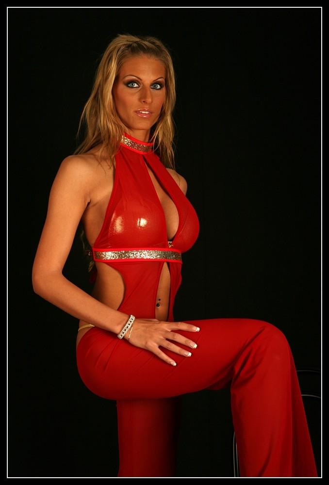 Angelique in front .....