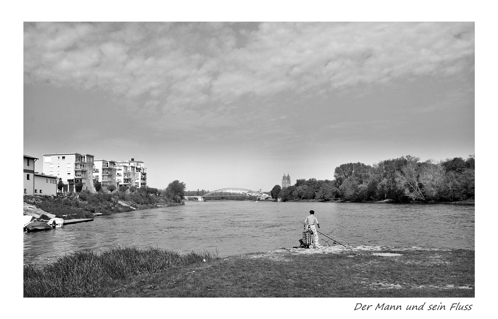Angeln an der Elbe