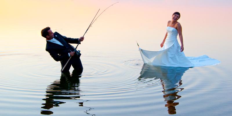 angeln mit angler :-)