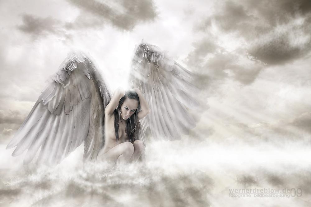 angels in heaven foto bild fotomontage fantasy. Black Bedroom Furniture Sets. Home Design Ideas