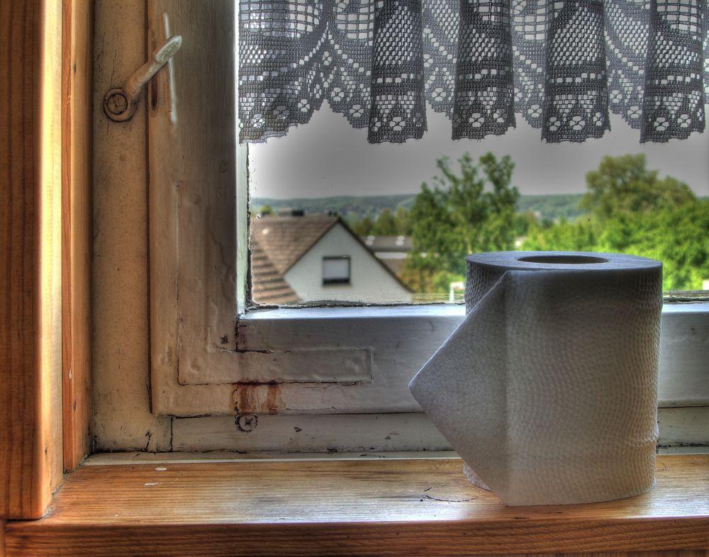 Angenehme Toiletten Aussicht