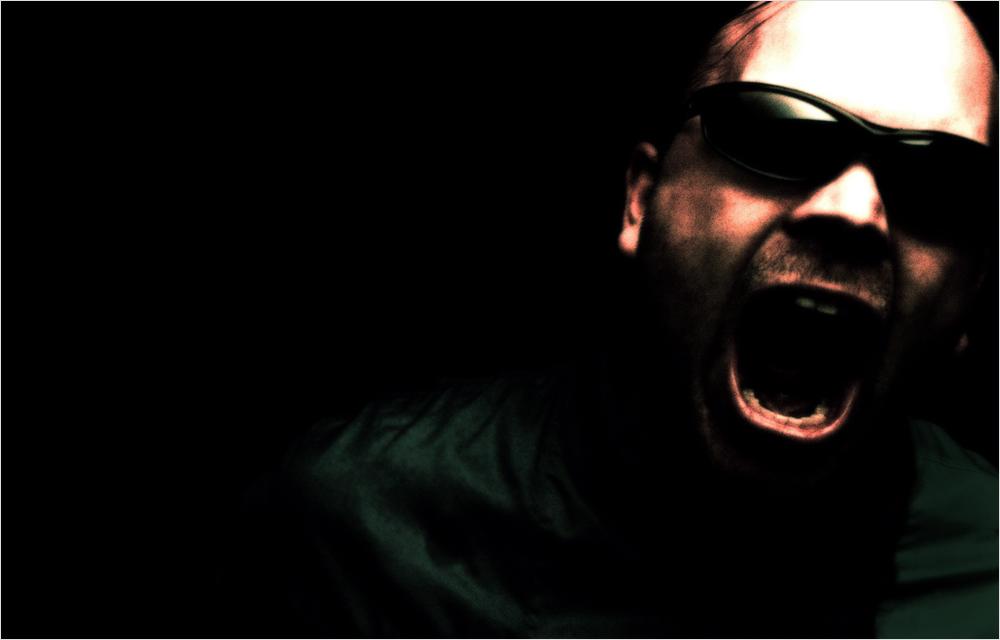 ...anger...