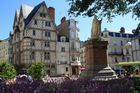 Angers eine schöne alte Stadt