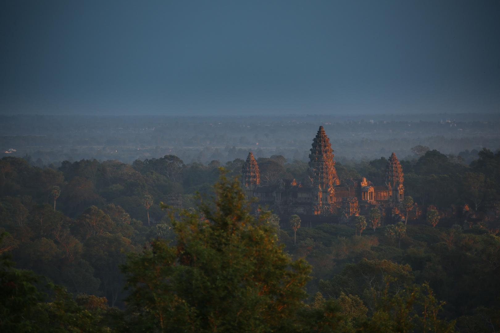 Angkor im Sonnenuntergang