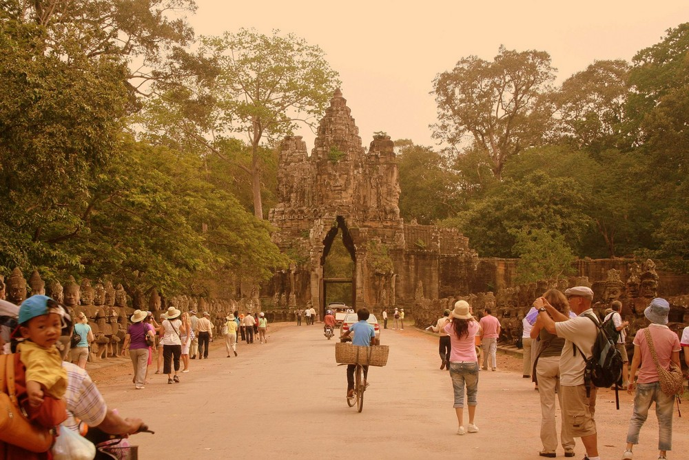 Angkor Thom's south door