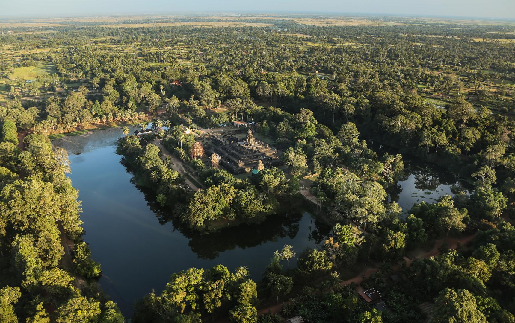 Angkor von oben 8
