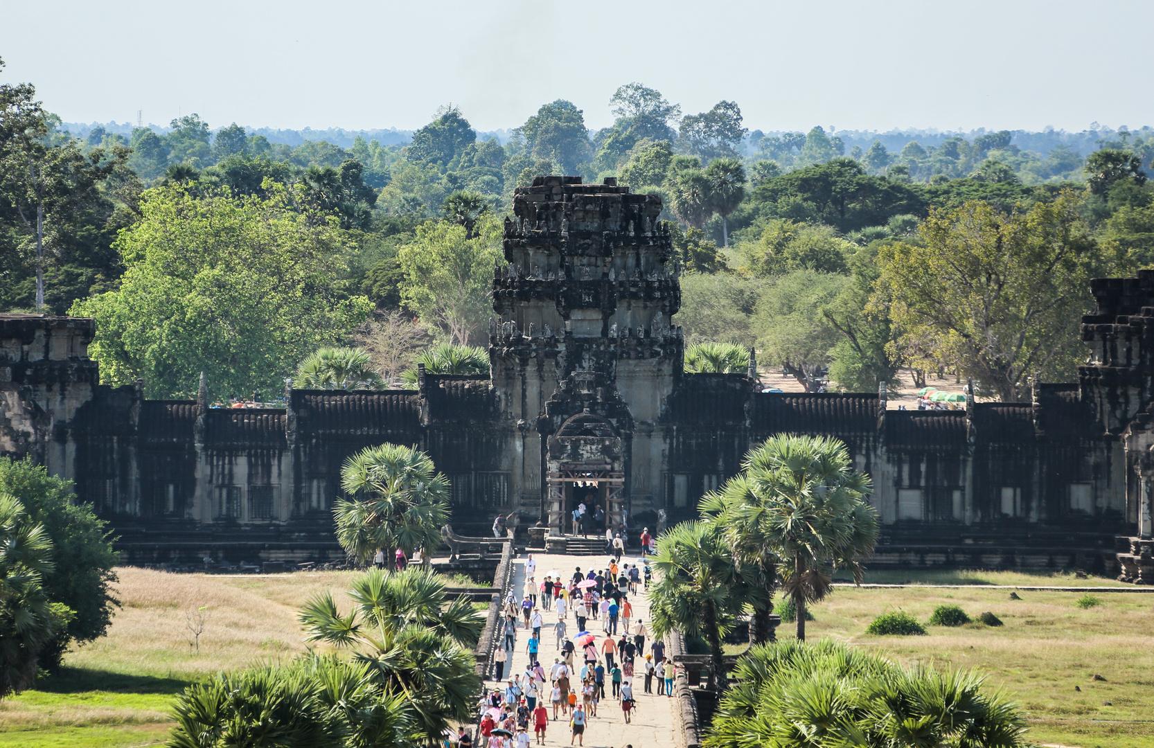 Angkor Wat Ausgang