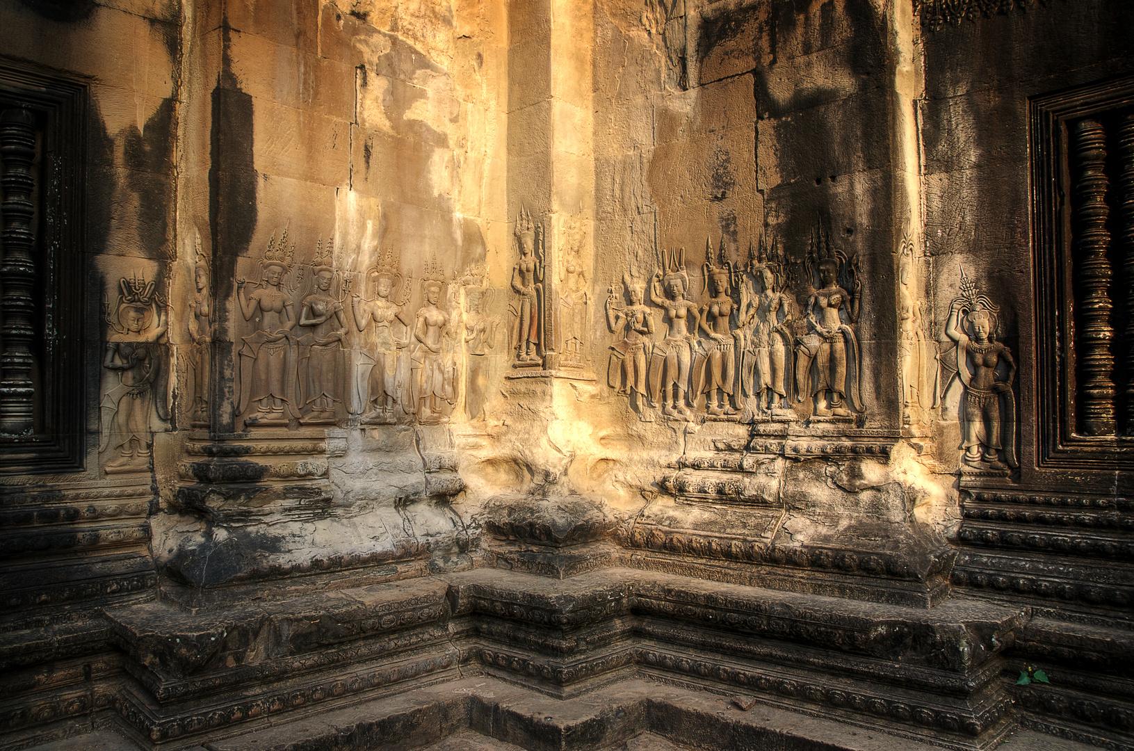 Angkor Wat Detailaufnahme