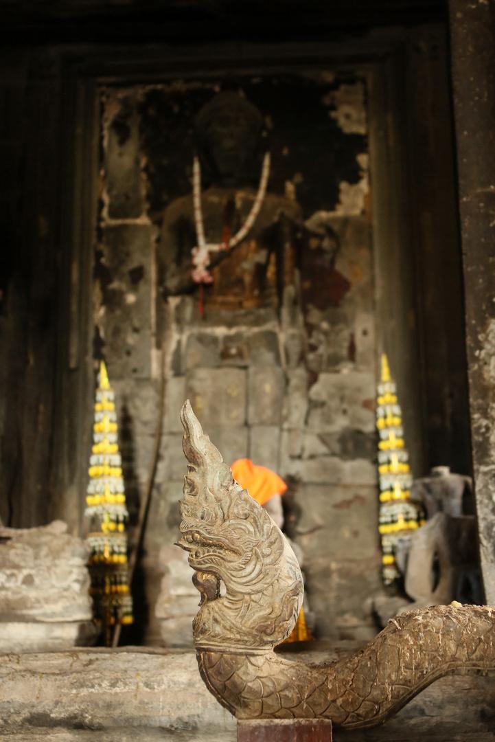 Angkor Wat Schlangenfigur