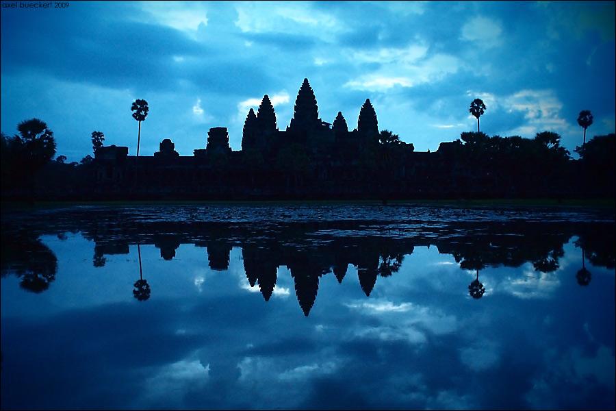Angkor Wat um 6 Uhr früh