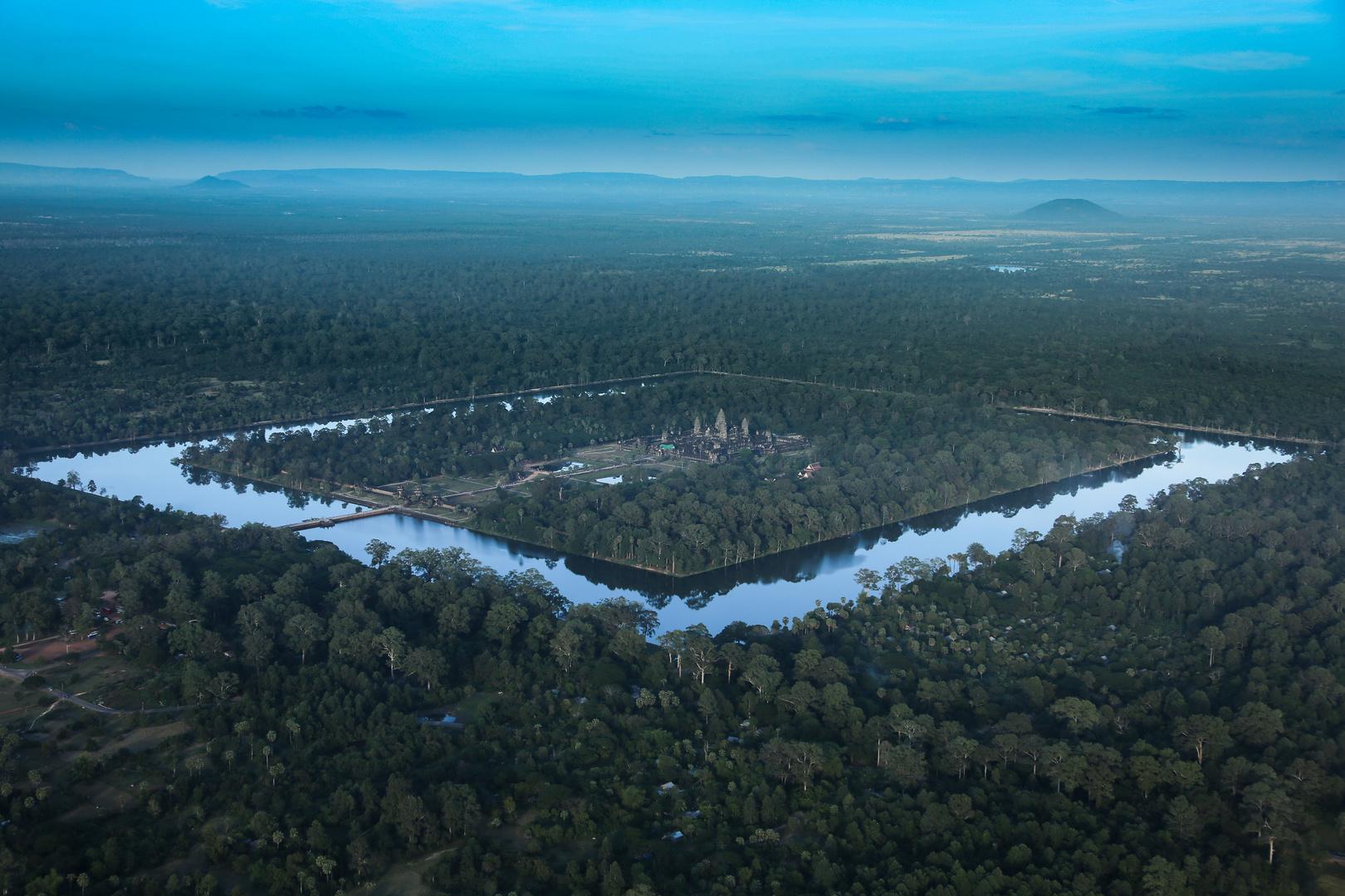 Angkor Wat von oben 2