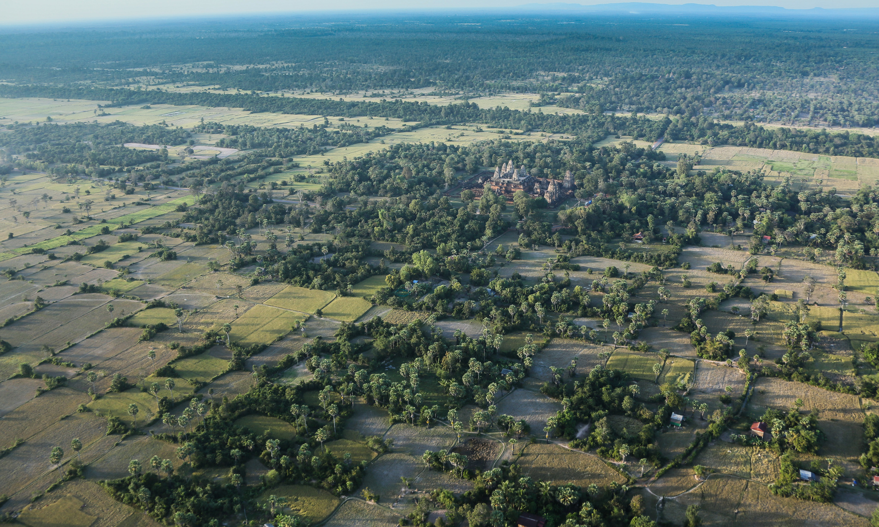 Angkor Wat von oben 3