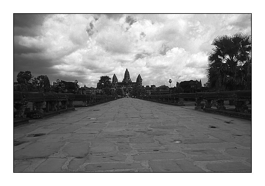 Angkot Wat vor dem Monsum
