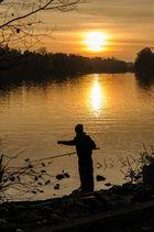 """Angler am"""" Kleinen Wannsee"""""""