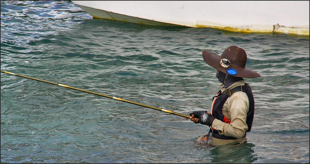 * Angler in Padang Bai **