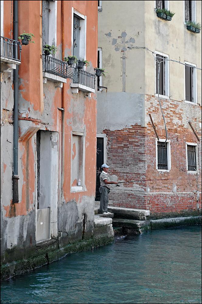 Angler in Venedig
