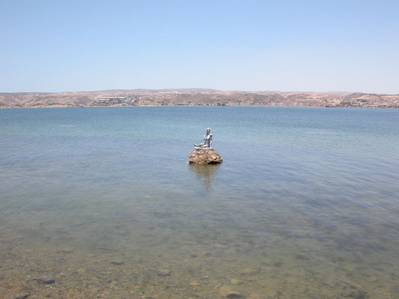 Angola - Lobito bay.