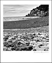 Angolo di spiaggia a Voltri