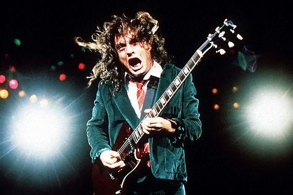 Angus Young (AC/DC) Sydney Entertainment Centre, 1986